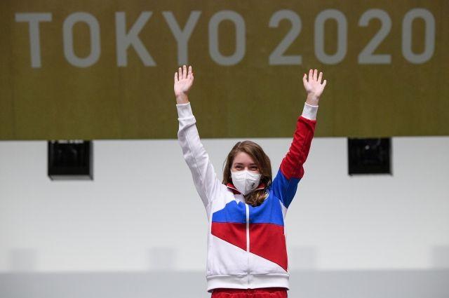 Тренеры верят, что Бацарашкина сможет принести ещё как минимум одну медаль.