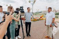 14 июля состоялся визит Алексея Нечаева в Чебоксары.
