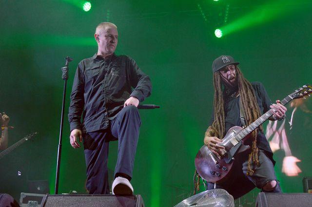 Участники украинской рок-группы Green Grey.
