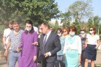 Мэр Омска регулярно выезжает на объекты.