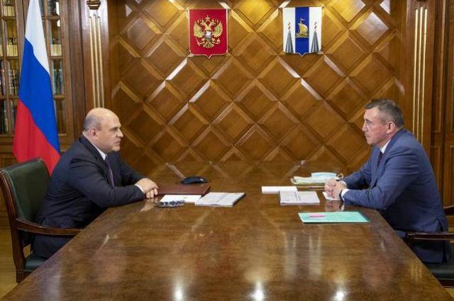 Об этом договорились на встрече премьер-министр России Михаил Мишустин и губернатор Валерий Лимаренко.