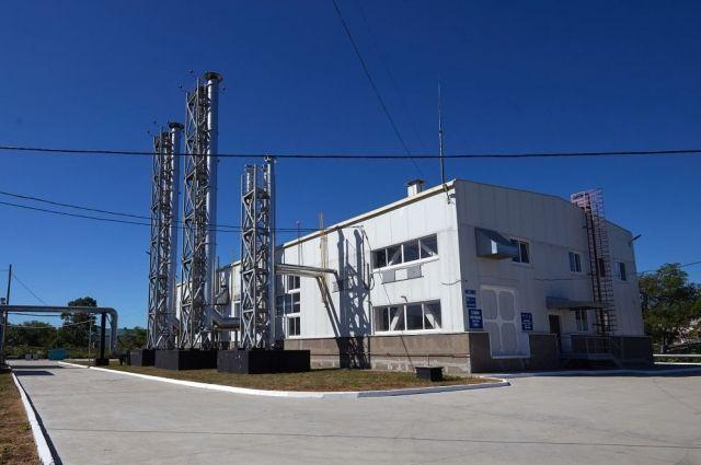 В городе действуют 10 газовых котельных.