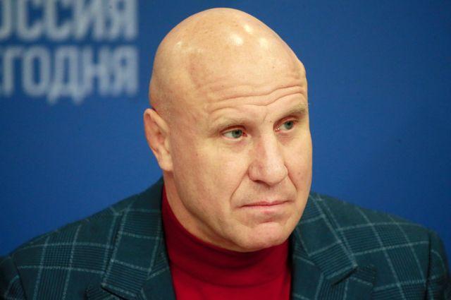 Президент Федерации спортивной борьбы России, олимпийский чемпион Михаил Мамиашвили.