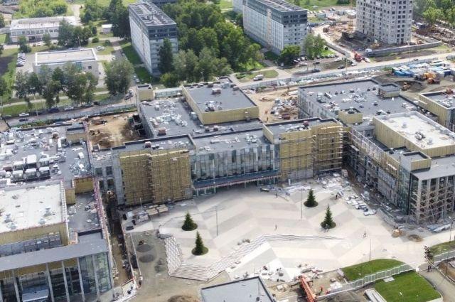 Пять зданий готовят к вводу в эксплуатацию.