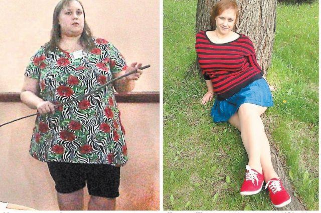 «Мало есть и много двигаться» - это правило, которое помогло Наталье Шергуновой сбросить вес со 105 до 66 кг.