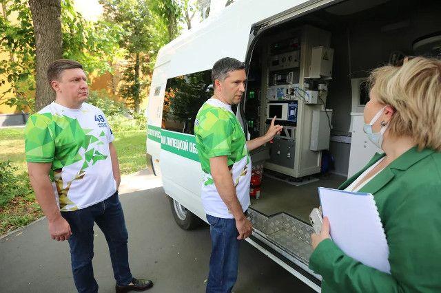 В парках Липецка стартовал Всероссийский экомарафон