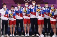 Спортсмены, члены сборной России (команда ОКР).