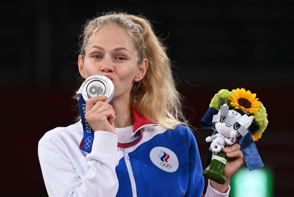 Татьяна Минина завоевала серебряную медаль на соревнованиях по тхэквондо в весовой категории до 57 кг среди женщин