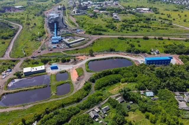 Водоочистные сооружения шахты «Чертинская-Коксовая».