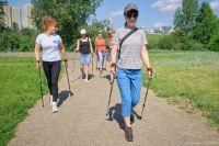 Мнение, что скандинавская ходьба для бабушек – это миф.