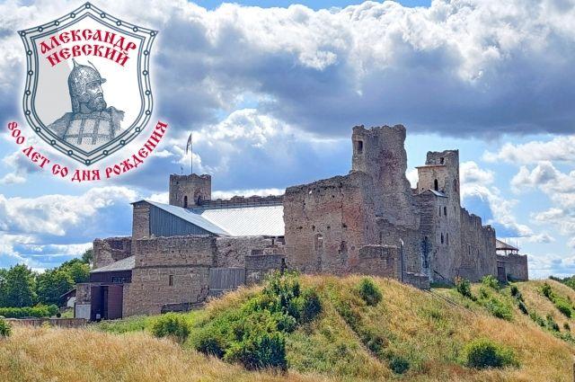 Замок Раквере, Эстония. Здесь в бою отличился Переяславский князь Дмитрий.
