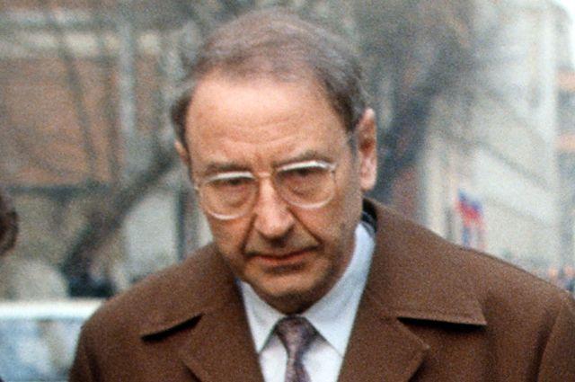 Олег Бакланов, обвиняемый по делу ГКЧП, 1993 г.