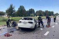 Страшная авария под Черкассами: погибла семья с ребенком.