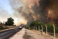 Пожары на юге Турции: пострадали 180 человек
