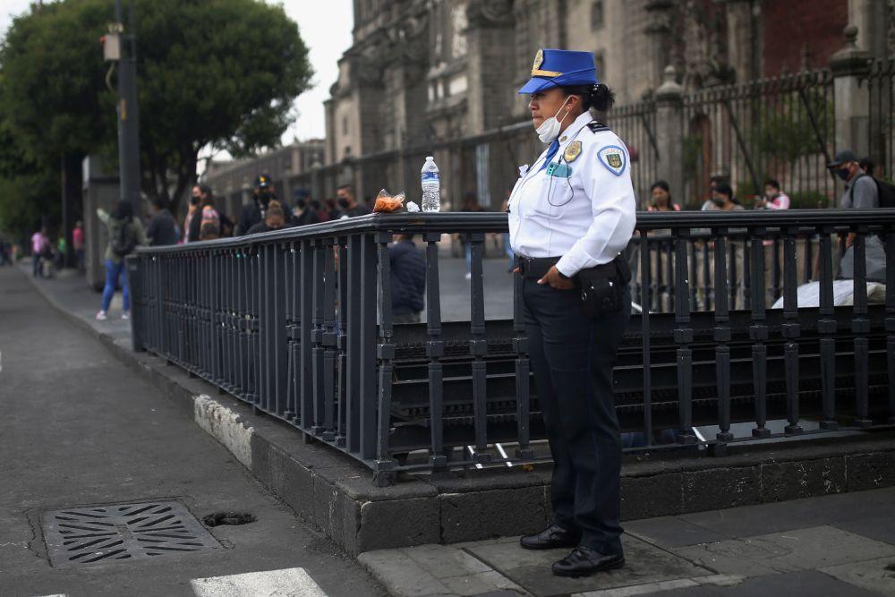 Сотрудница полиции Мексики