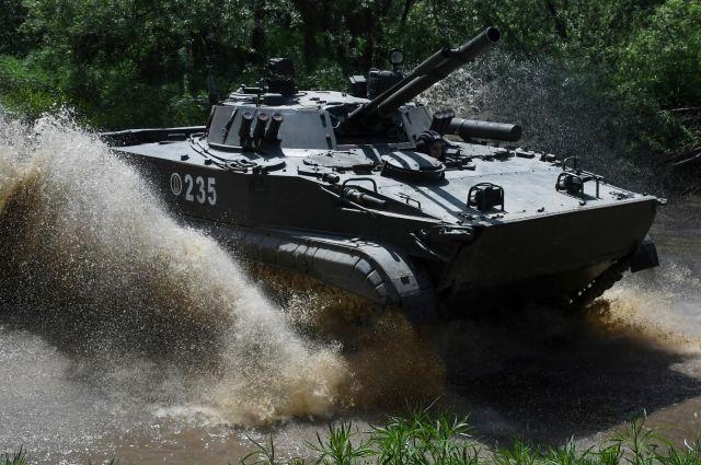 Бригада морской пехоты в Крыму получит боевые машины-амфибии — Известия