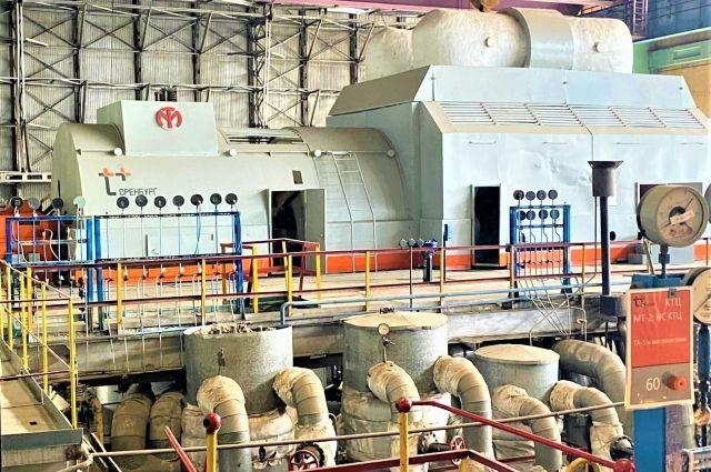 Т Плюс завершил капитальный ремонт турбины Сакмарской ТЭЦ.