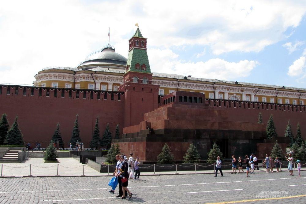 Мавзолей Ленина.