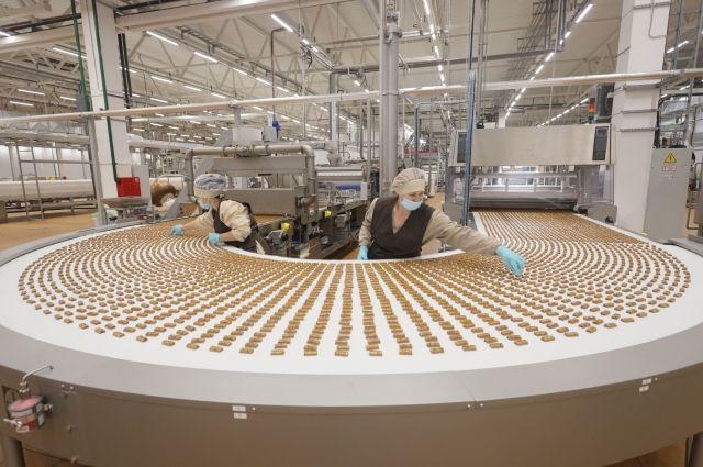 Кондитерское производство компании является одной из самых мощных в России производственных площадок.