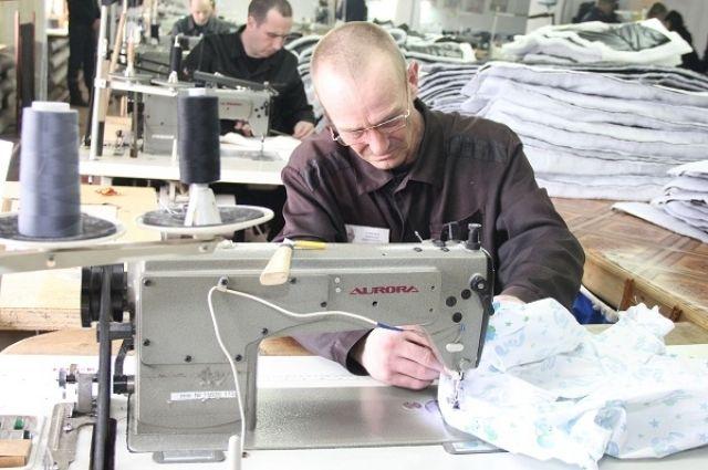 С начала года сумма заказов осужденным на швейную продукцию составила 11,6 млн рублей