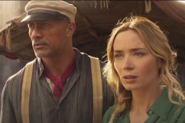 Кадр из фильма «Круиз по джунглям».