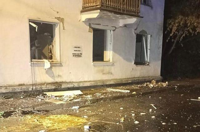Дом, в котором произошел взрыв.