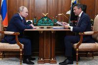 Встреча Владимира Путина и Алексея Комиссарова
