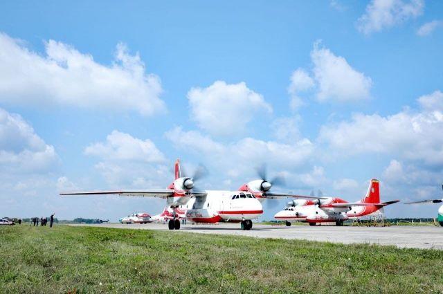 В Турцию направили пожарные самолеты Украины