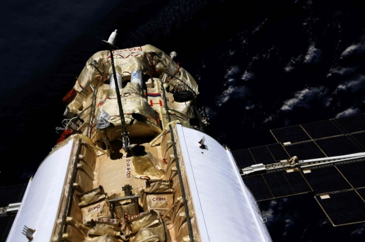 Космонавты на МКС впервые зашли в новый модуль «Наука»