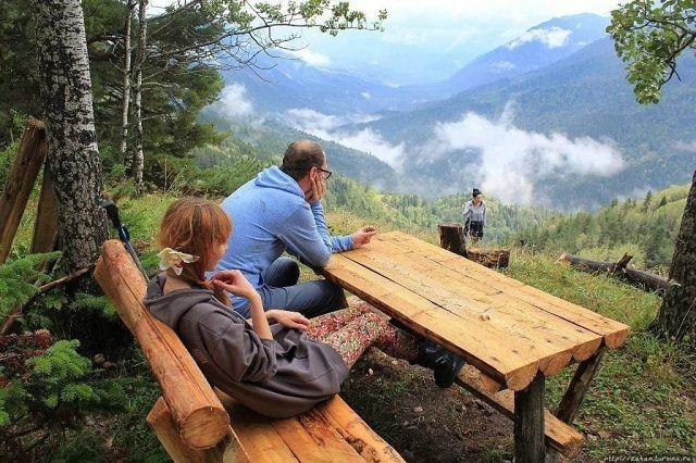 В Кисловодске мнго мест, где можно насладиться красотой природы и чистым воздухом.
