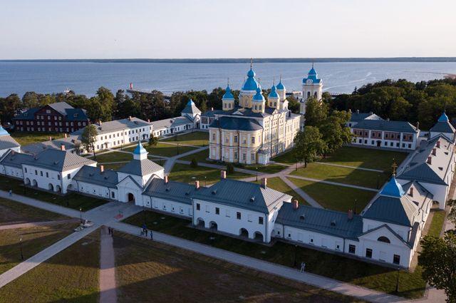 Исторический облик монастыря восстановили посостоянию насередину XIXв.