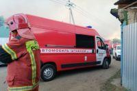 Пожар в Протопоповской роще Оренбурга тушат 103 человека и 35 единиц техники.