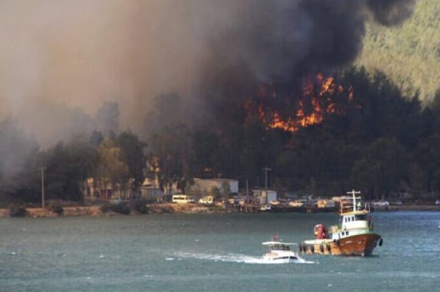 В Турции удалось локализовать большинство пожаров