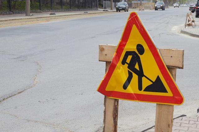 Объезд будет осуществляться по встречной полосе, а в западном направлении для движения будет доступна только одна полоса.