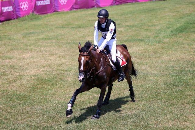 На Олимпийских играх впервые усыпили лошадь.