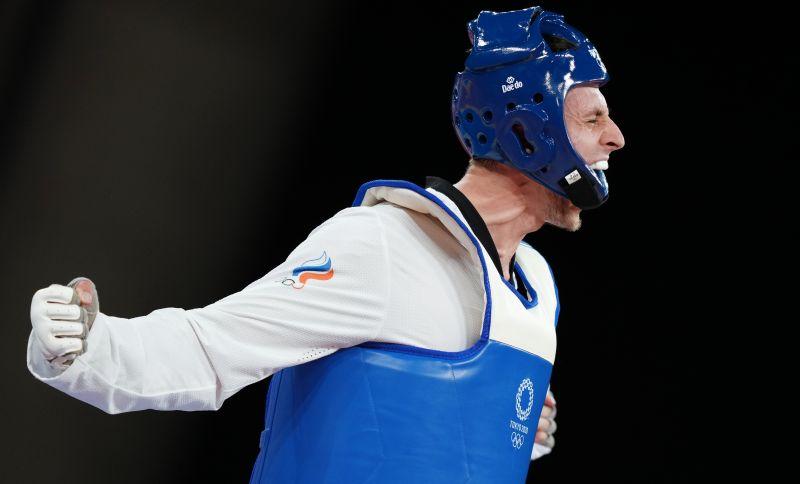 Владислав Ларин завоевал золотую медаль в соревнованиях по тхэквондо в весовой категории свыше 80 кг среди мужчин на XXXII летних Олимпийских играх в Токио