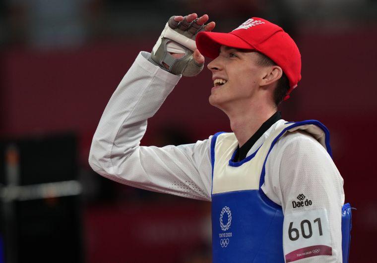 Максим Храмцов завоевал золотую медаль в соревнованиях по тхэквондо в весовой категории до 80 кг среди мужчин на XXXII летних Олимпийских играх в Токио