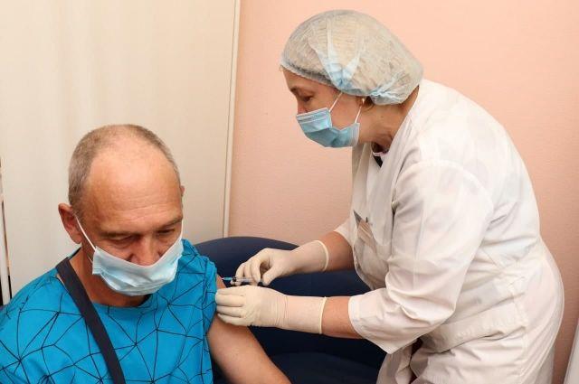 В регионе привиты более 50% подлежащего вакцинации населения.