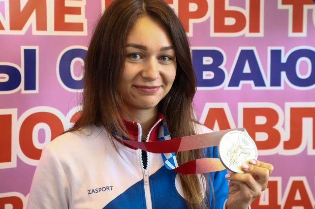 Красноярской спортсменке не хватило 1,5 балла до золотой медали.