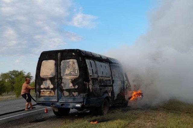 В селе Городище и в его окрестностях за выходные произошло четыре серьезных пожара.