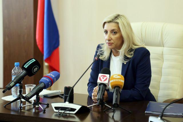 заместитель губернатора Владимирской области Ольга Гребнева