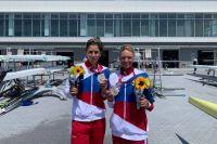 Василиса Степанова (на фото справа) и Елена Орябинская - настоящие герои Олимпиады!