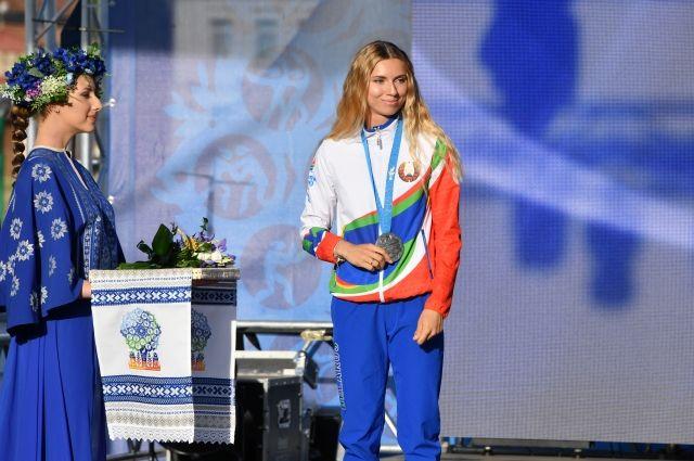 Легкоатлетка Кристина Тимановская