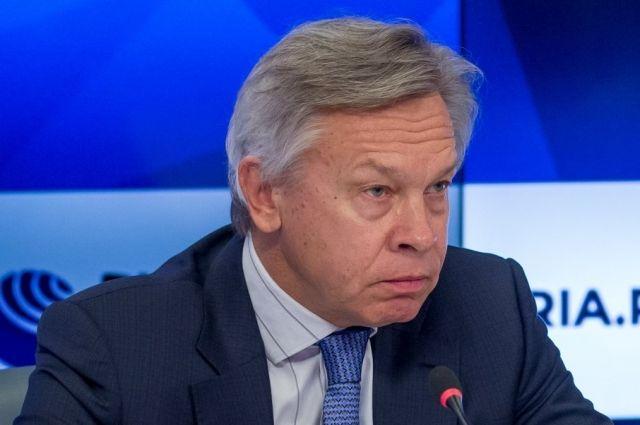 Пушков заявил, что Крым был «пасынком» Украины