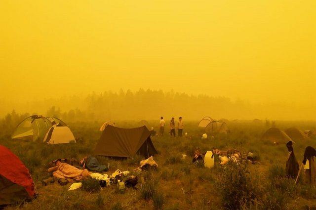 Исчезновение солнца в Якутии было и раньше – в июле 2018 года подобную аномалию наблюдали в Верхоянском и Эвено-Бытантайском районах.