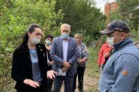 Мэр встретилась с жителями.