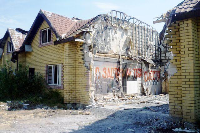 Жители до сих пор не верят, что им придётся покинуть и разрушить свои дома.