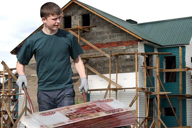 Рост цен на стройматериалы остановил стройку у тысяч семей.