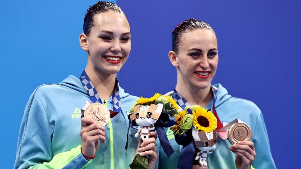 Бронзовые медали достались украинским спортсменкам — Марте Фединой и Анастасии Савчук
