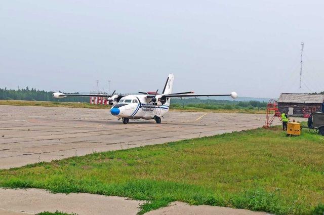 В аэропорты городов на севере края отменены рейсы